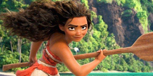 Moana's hair