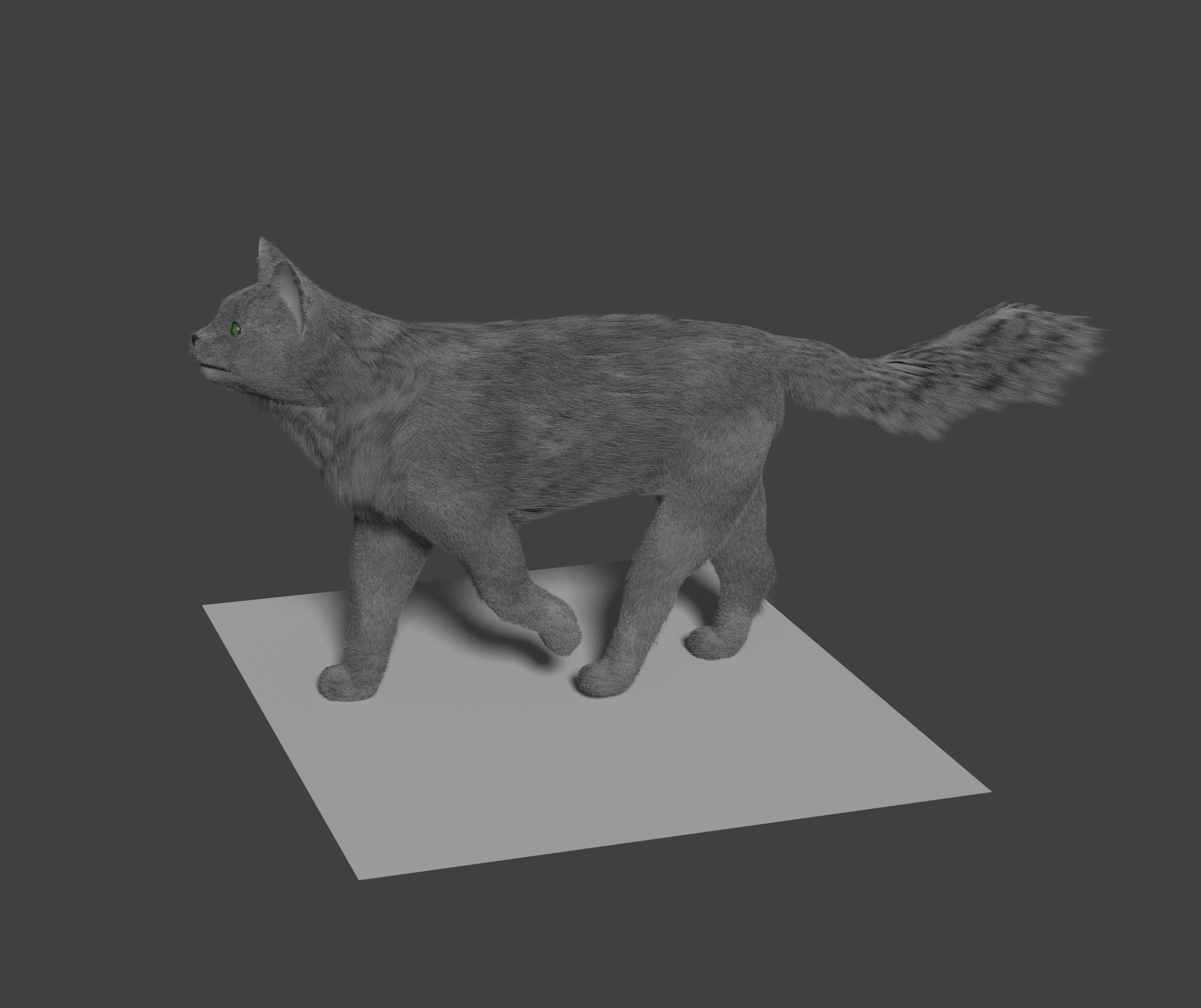 Cat Model - Thoughts? - Focused Critiques - Blender Artists Community