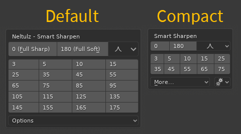 default_vs_compact_popup_and_pie_panel