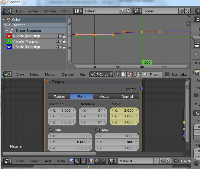 Changing interpolation of node values - Basics & Interface - Blender