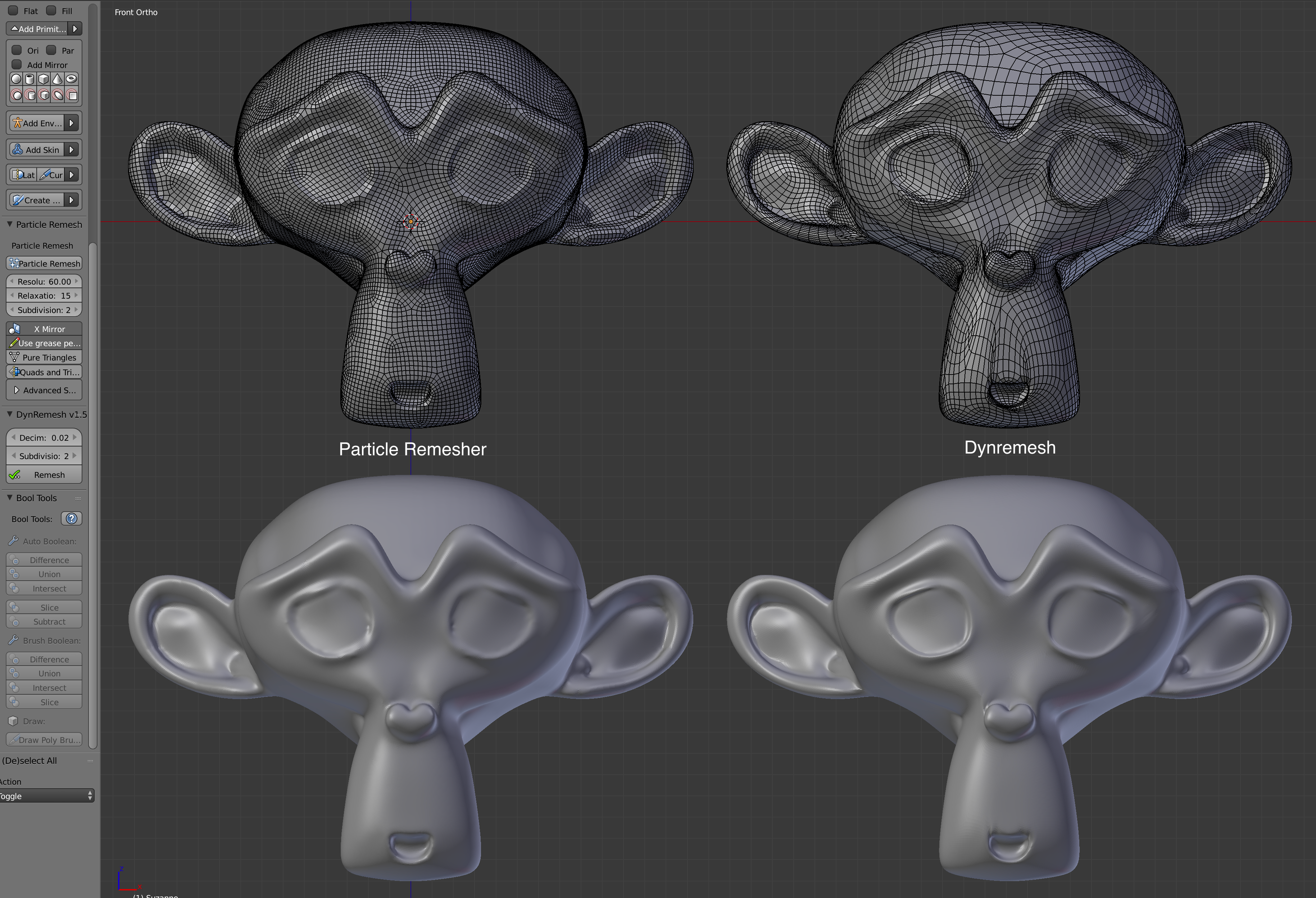 Auto-retopology tools compared - Blender and CG Discussions