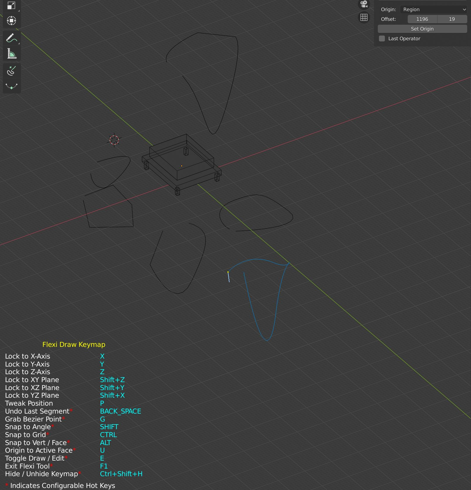Flexi Bezier Tool - Released Scripts and Themes - Blender Artists Community