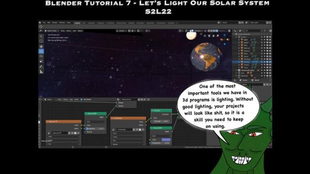 Let's Make the Solar System - Blender Basics Tutorial - new vid