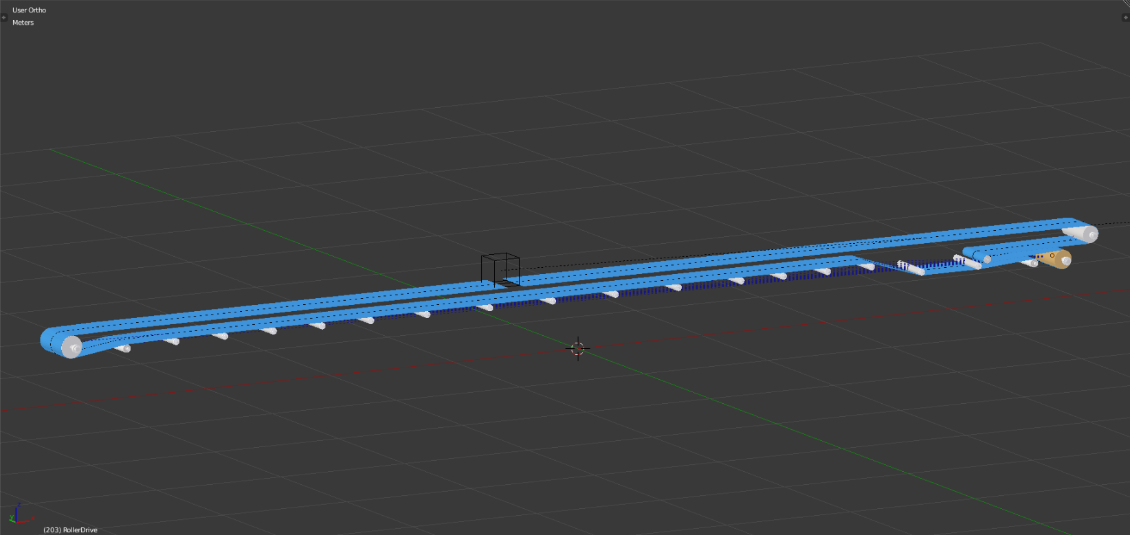 Exporting Conveyor Belt Animation to Unity (edited for grammar