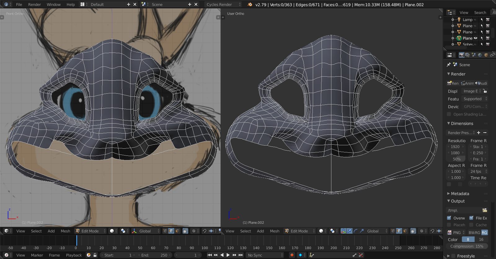 Help with modeling an anthropomorphic animal? - Modeling