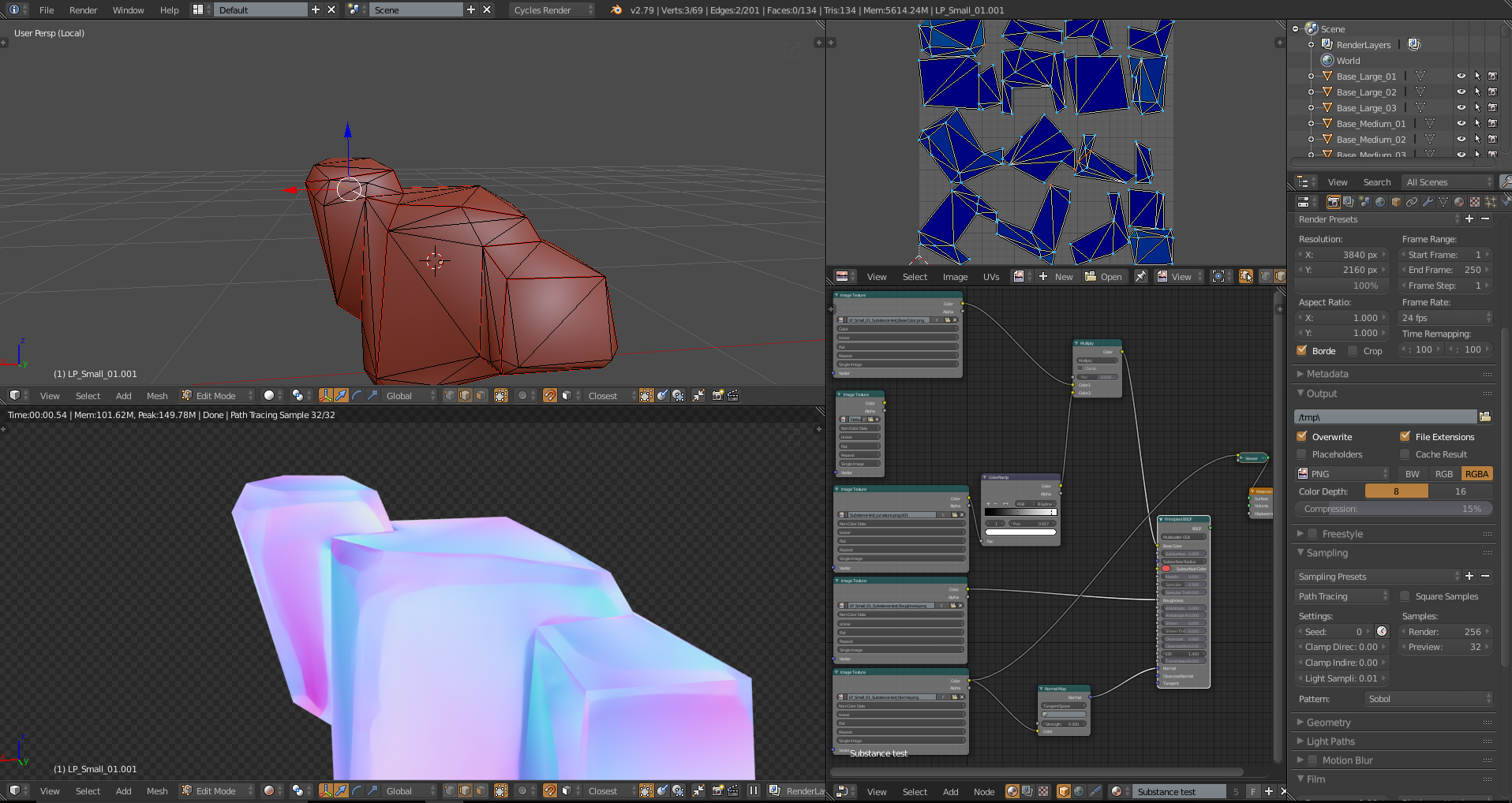 Such a thing as too lowpoly when baking? - Materials and