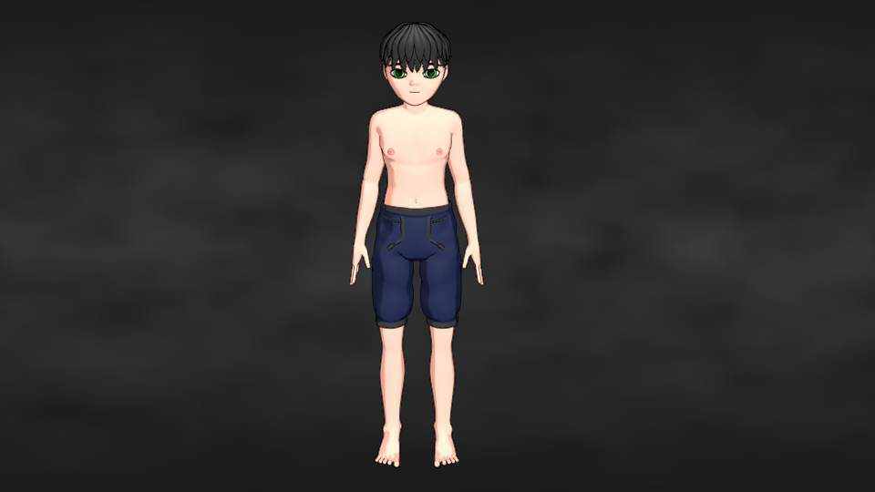 my male anime character honest feedback please works in progress