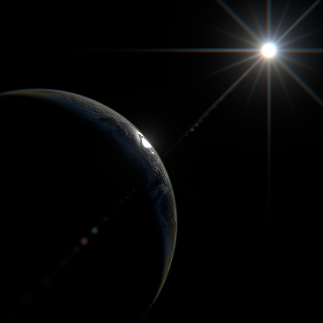 PlanetCreator (Procedural Planet, Atmosphere and Cloud