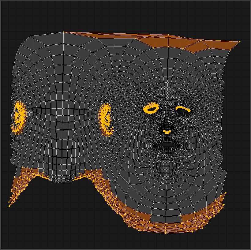 Texture Bake_Head