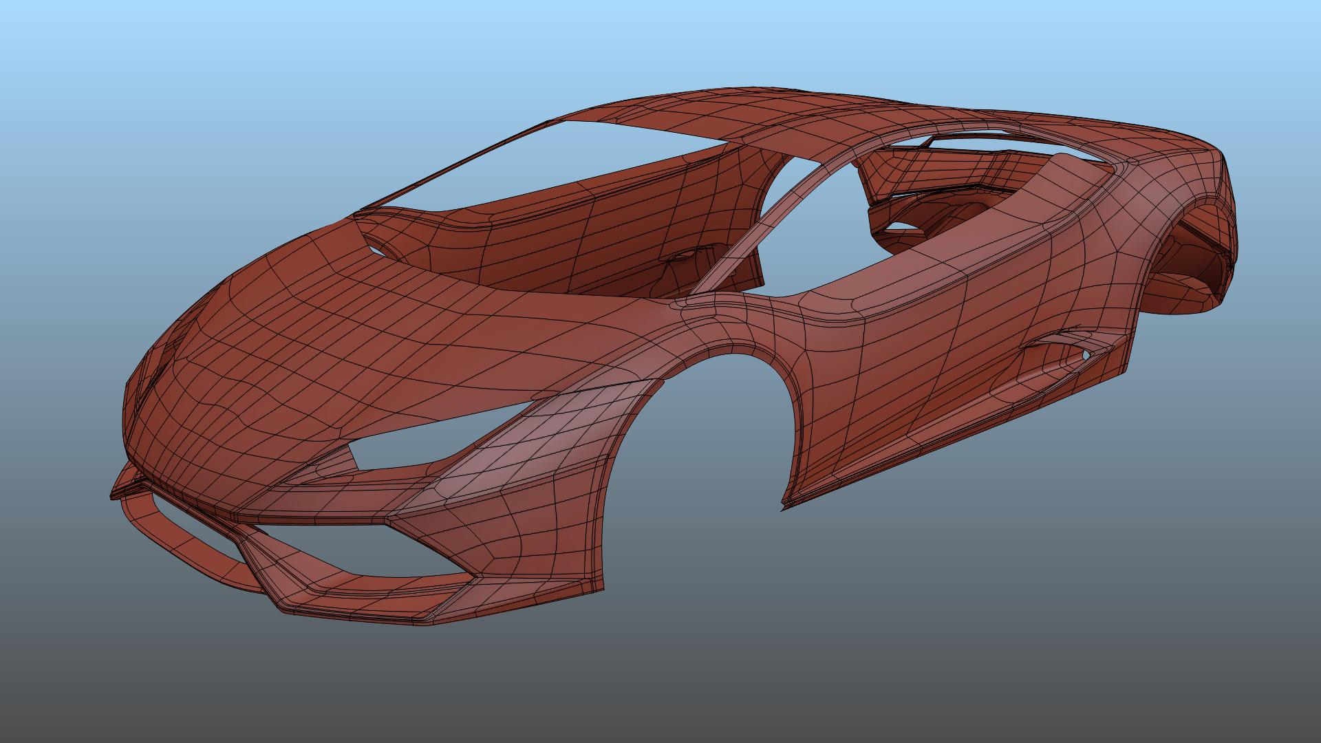 Lamborghini Huracan Works In Progress Blender Artists Community