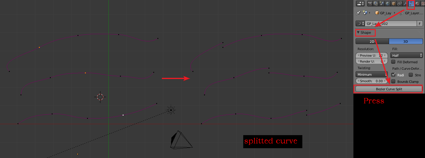 Addon] Bezier Curve Split Tool - Released Scripts and Themes