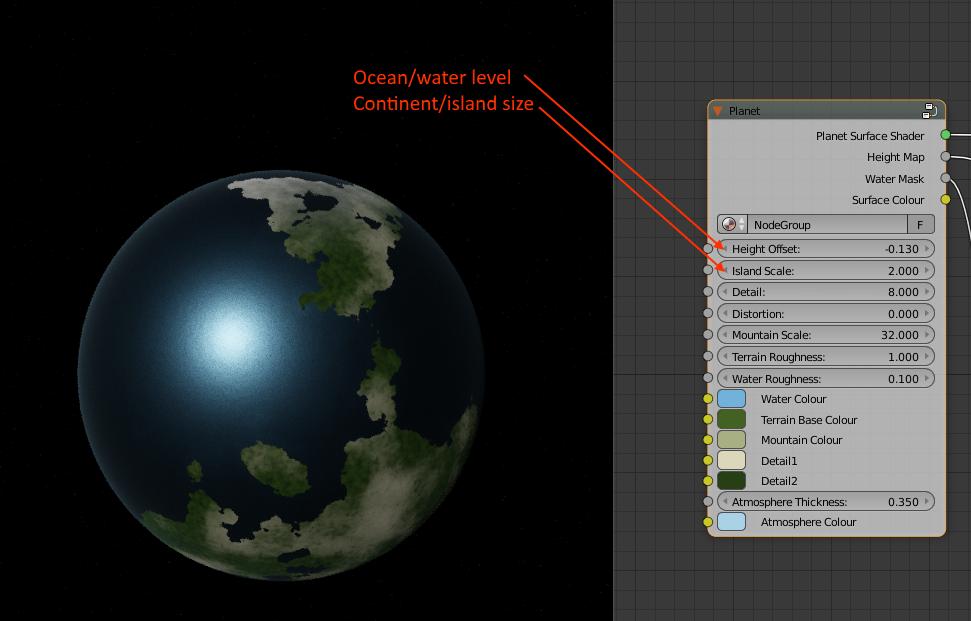 Planet Heightmap