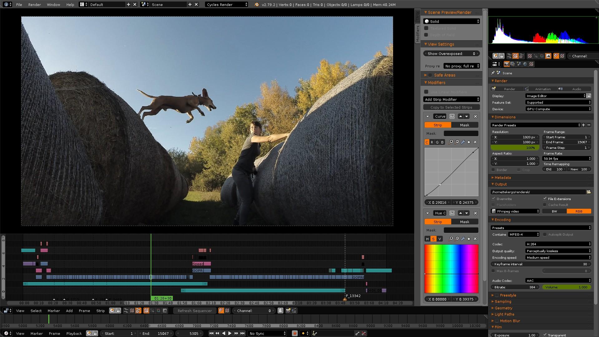 Resultado de imagen de Blender editor de video