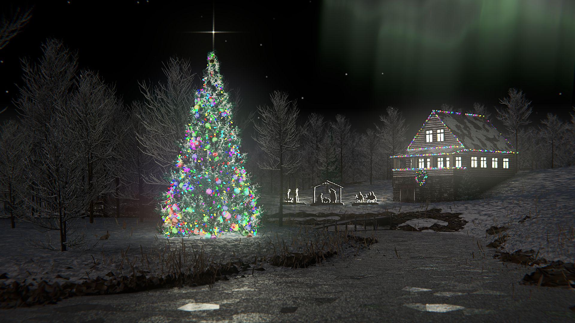 Christmas Scene Wip Works In Progress Blender Artists Community