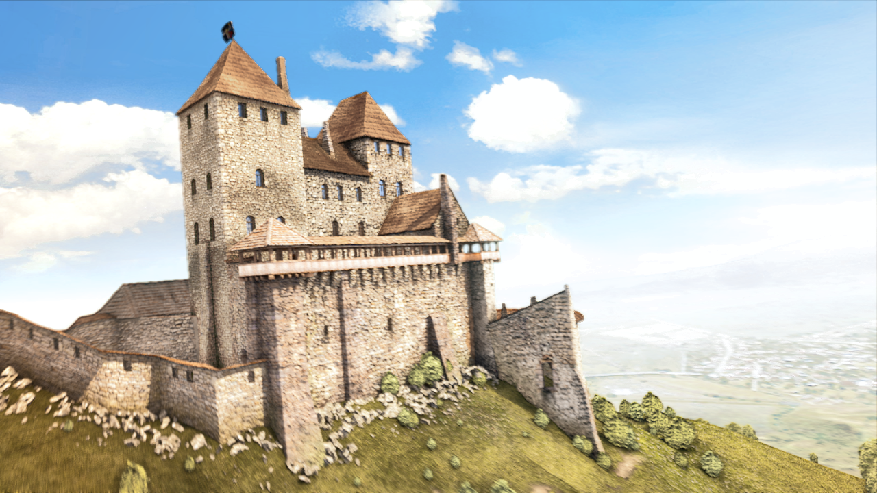a846a567d6 Kapusany castle - reconstruction - Finished Projects - Blender ...
