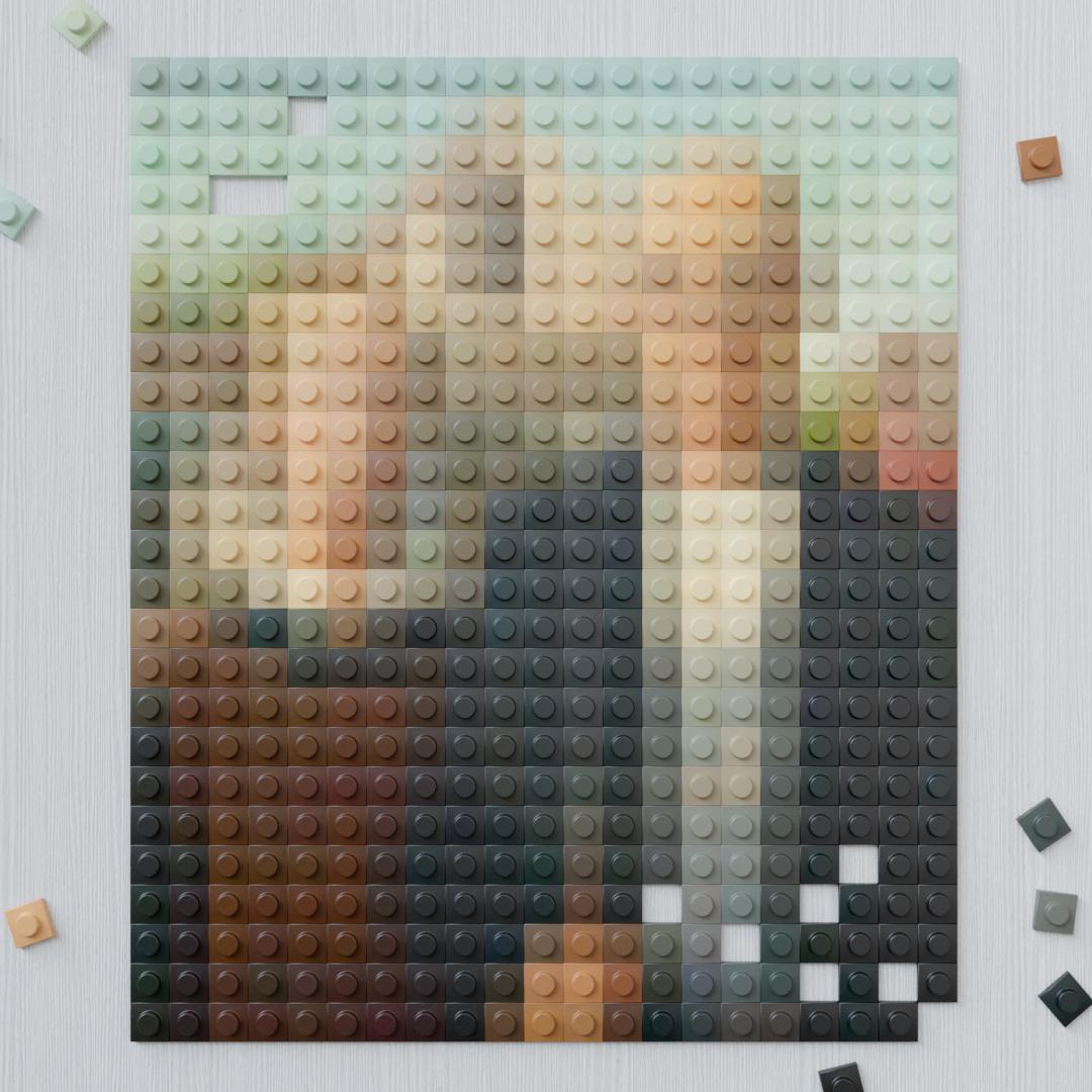 LEGO Artworks - Generativ Art with Python - Finished