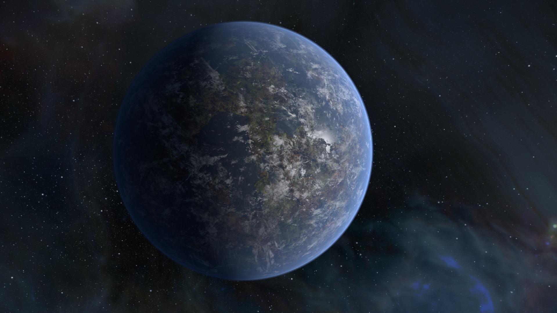 Semiprocedural planet - Works in Progress - Blender Artists