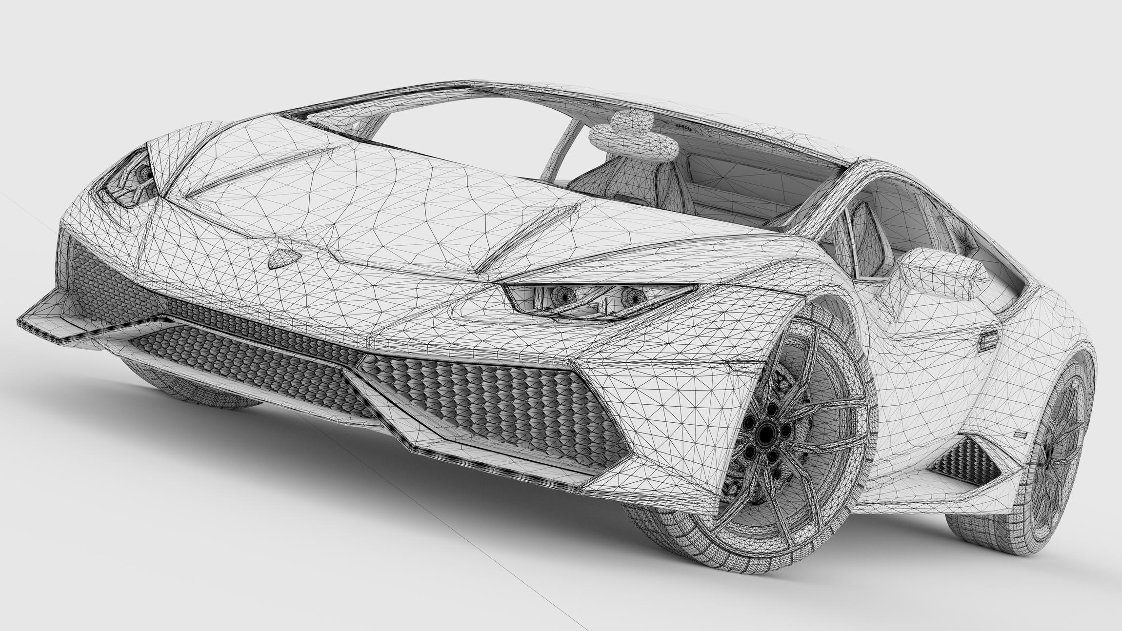 Mewarna10 Kleurplaten Lamborghini Huracan