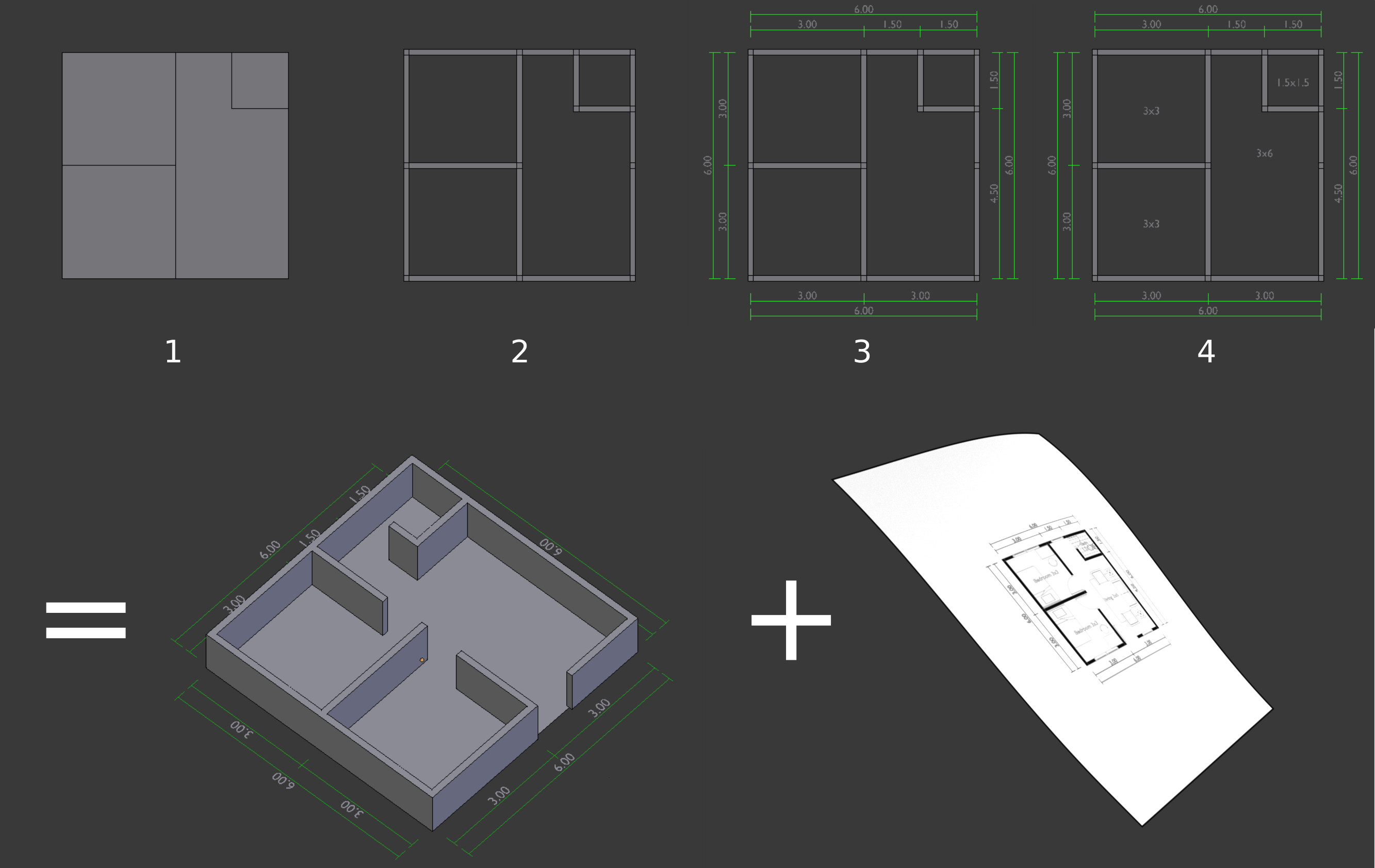Quick Plan Create 2d Or 3d Architectural Floor Plan Quickly Released Scripts And Themes Blender Artists Community