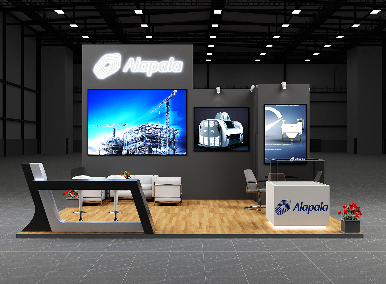 Exhibition Stand Visualisation : Exhibition stand visualisation using blender 2.8 assistance tips