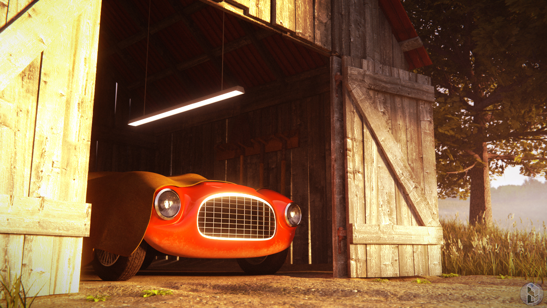 Red Barchetta Finished Projects Blender Artists Community