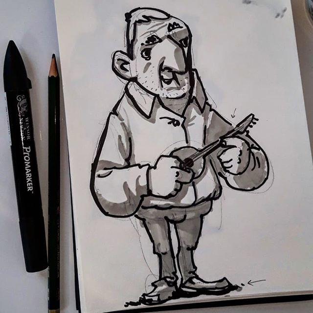 keki-farmer-sketch