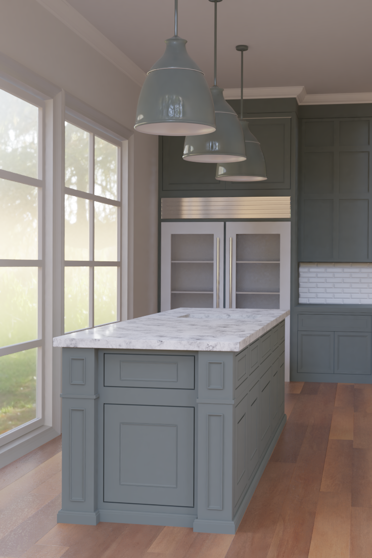 Kitchen Interior Works In Progress Blender Artists Community