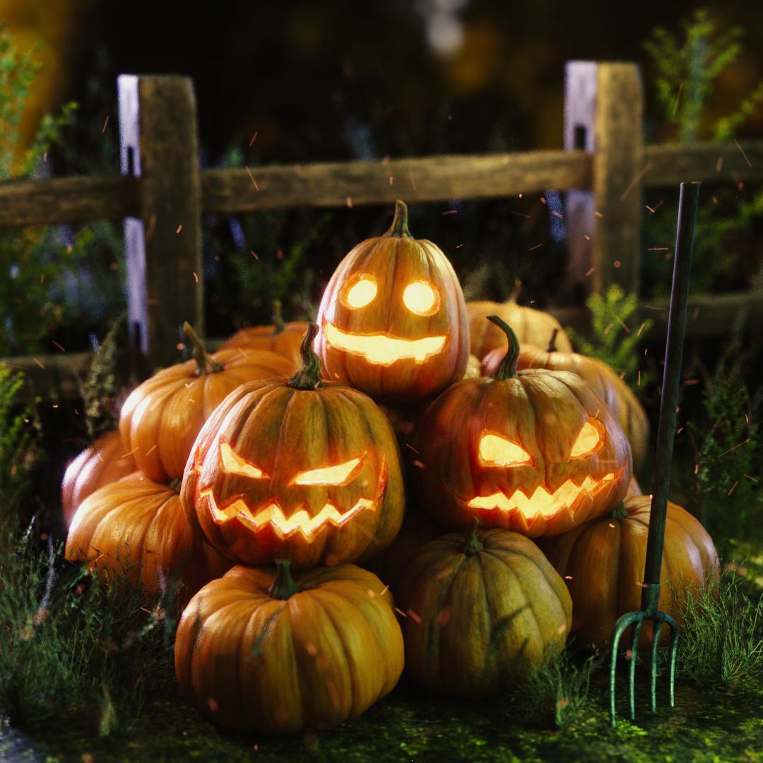 Halloween stuff   Forum Gallery   Blender Artists Community