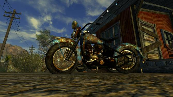 Fallout 4 Motorcycle Replacement Mod - Works in Progress - Blender