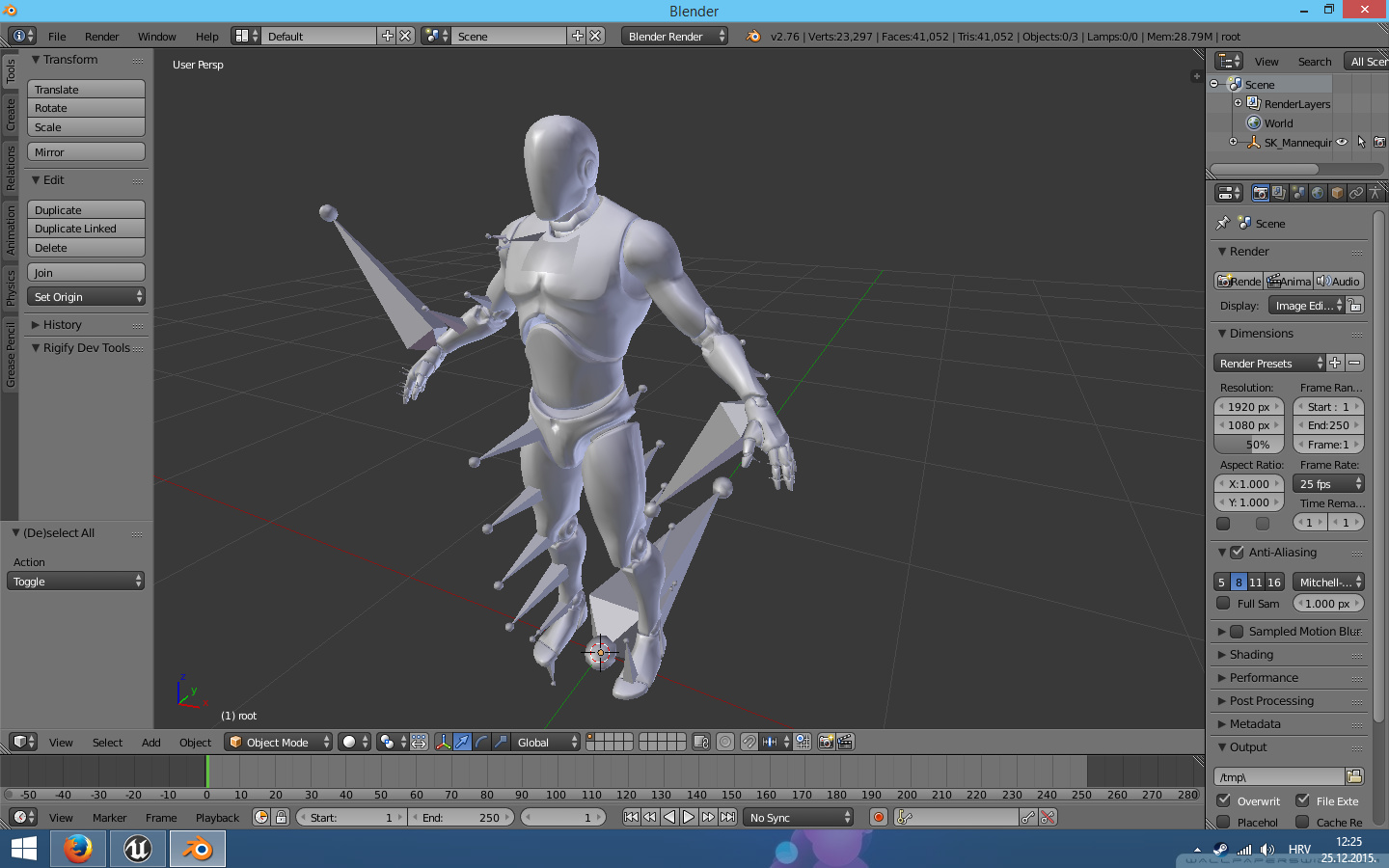 UE4 Bone Rotations - Animation and Rigging - Blender Artists