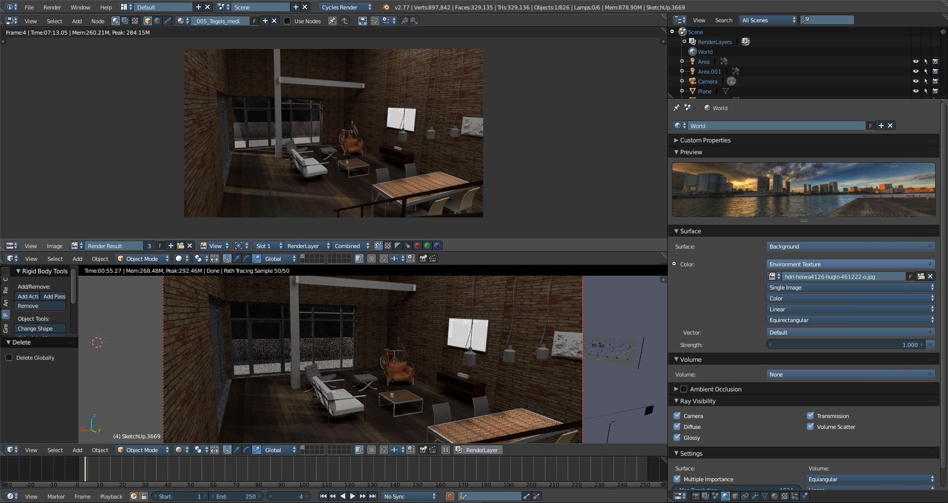 HDRI image not showing - Materials and Textures - Blender