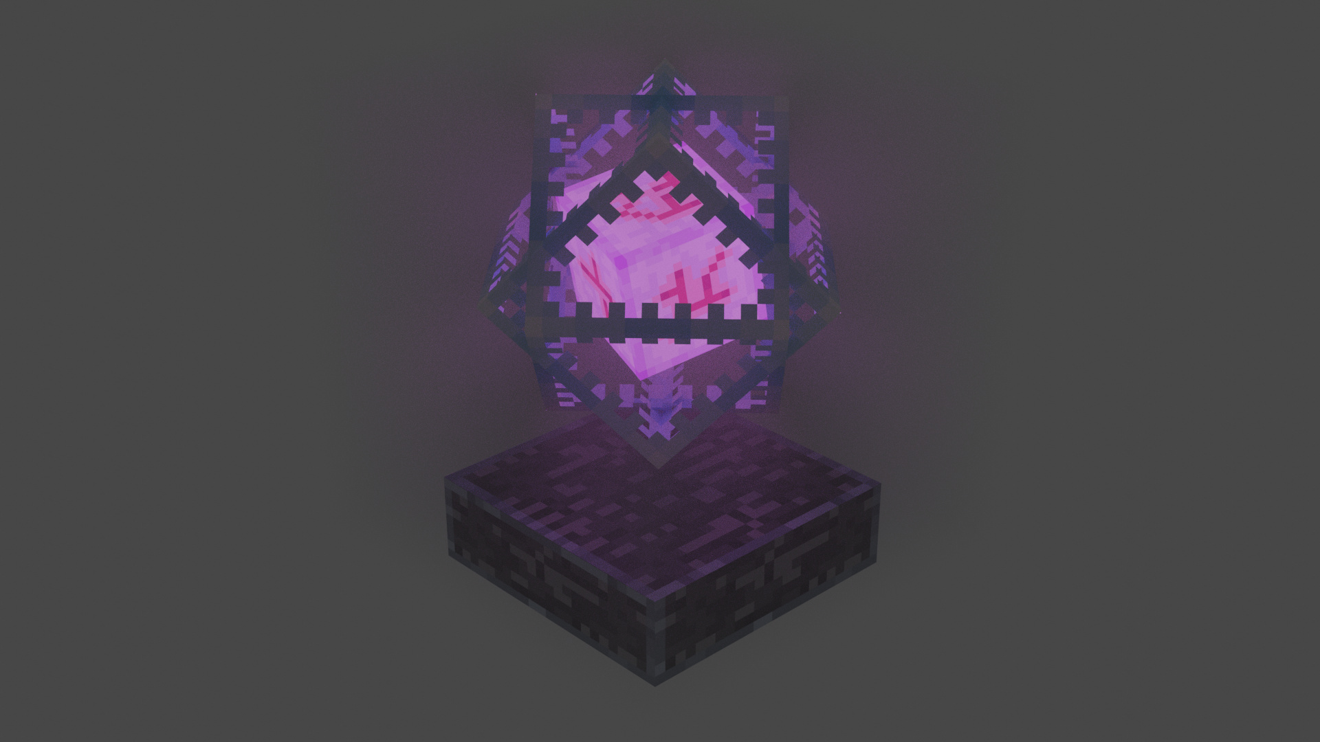 End Crystal From Minecraft - Finished Projects - Blender Artists