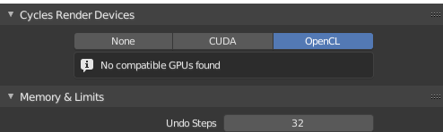 My GPU is not showing up in Blender 2 8 - Technical Support