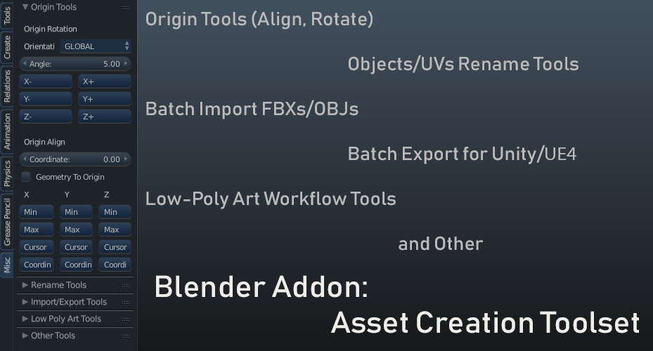 Asset Creation Toolset 2 4 2 [UPDATE 07 Jul, 2019][2 8 SUPPORT