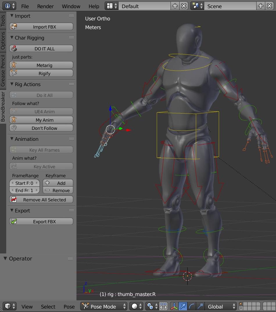 BoneBreaker - UE4 mannequin animation - effortless and free