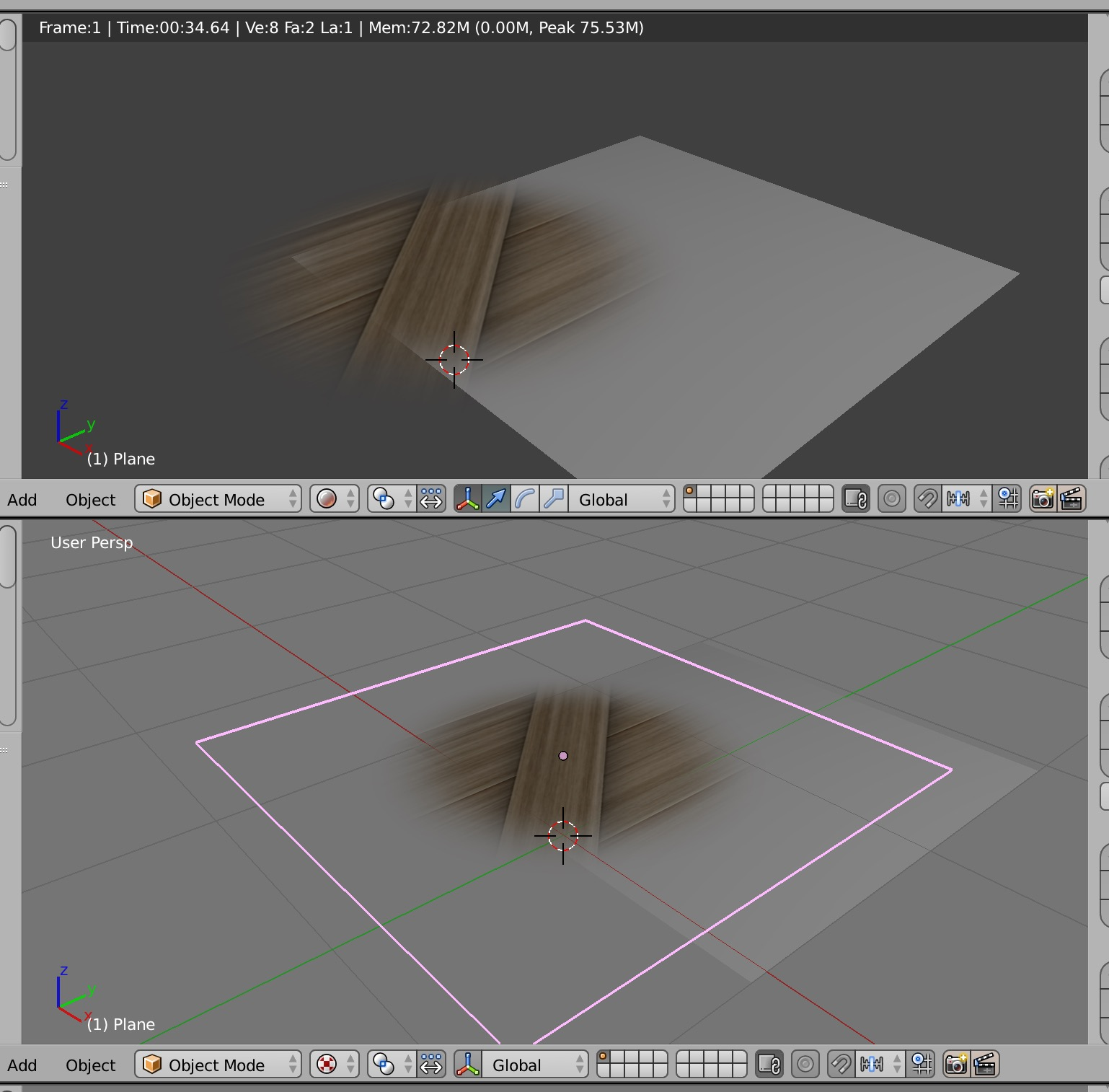 Material not maintaining texture transparency  - Materials