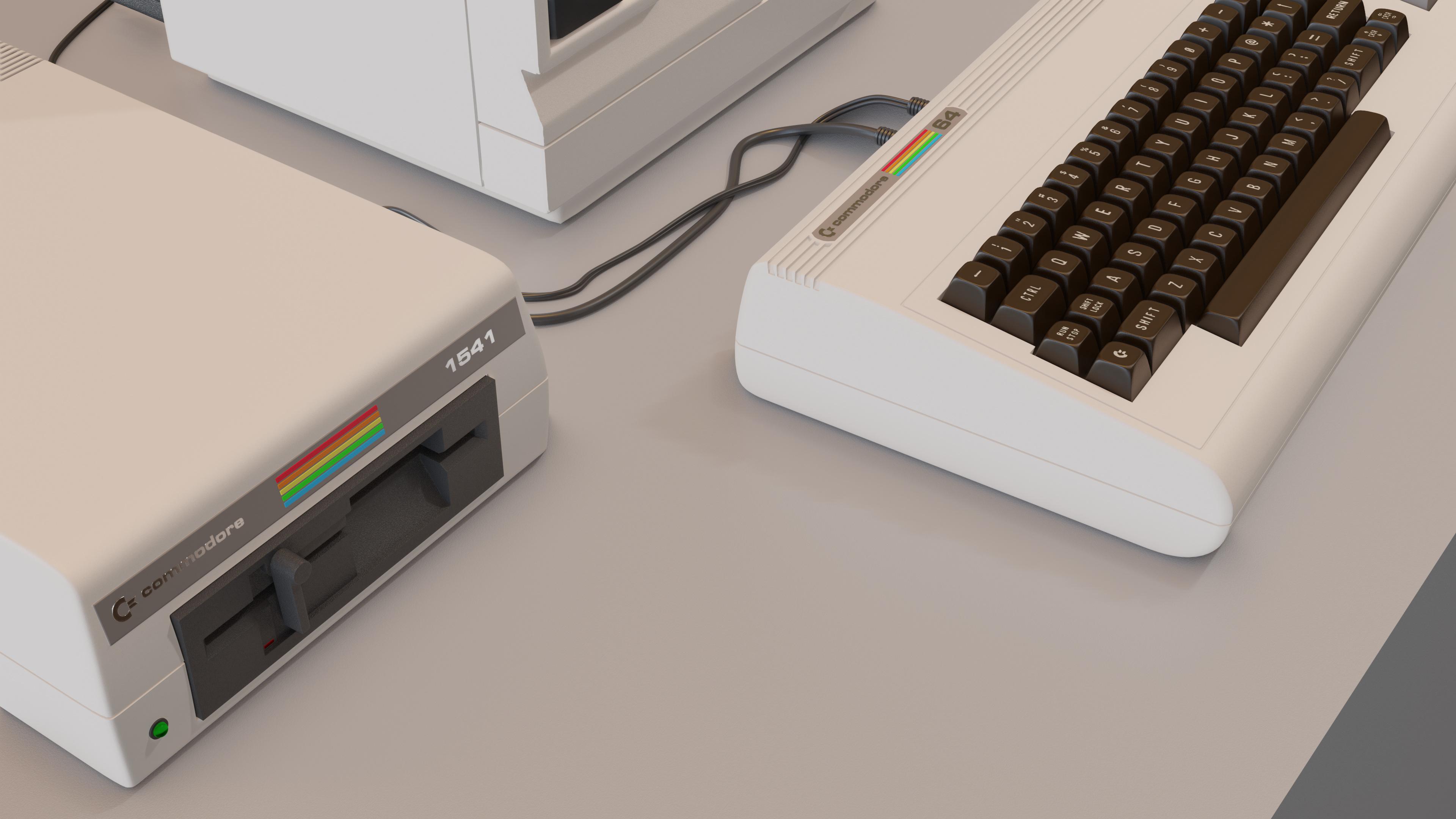 Commodore 64 - Forum Gallery - Blender Artists Community