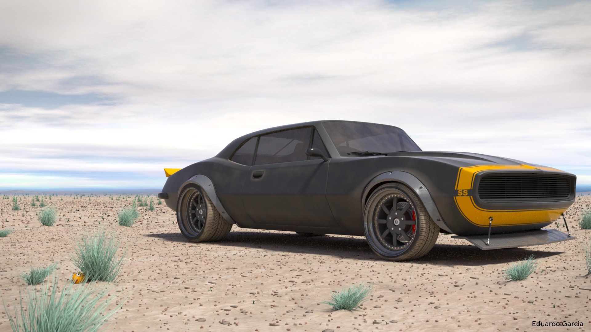 camaro 67 - finished projects - blender artists community