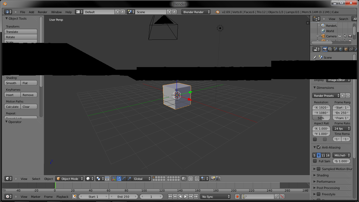 Blender screen flicker and crashes - Technical Support