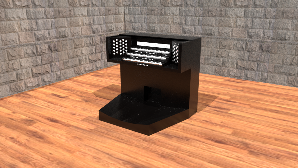 Pipe Organ Console - Works in Progress - Blender Artists