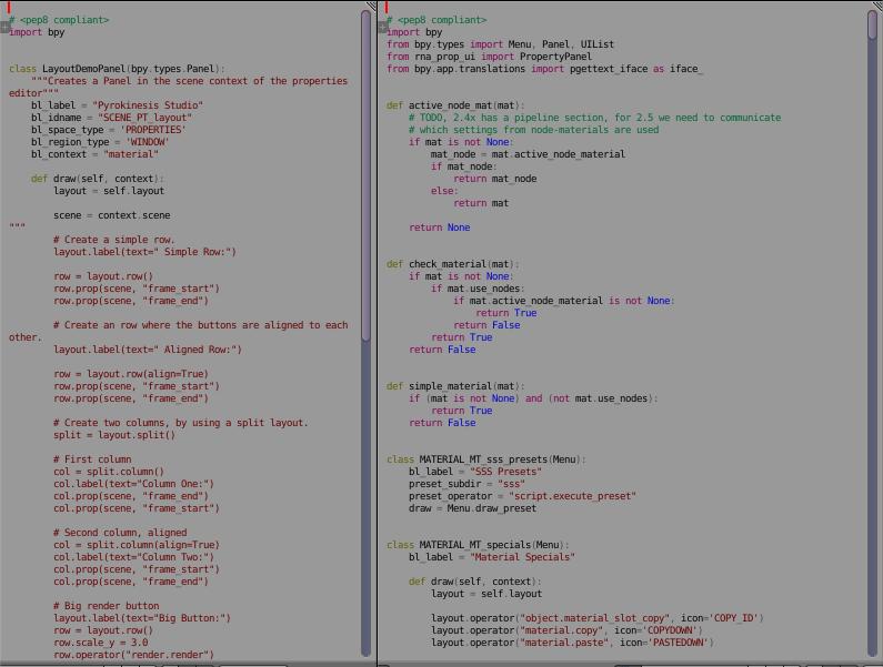 run python script with button - Python Support - Blender