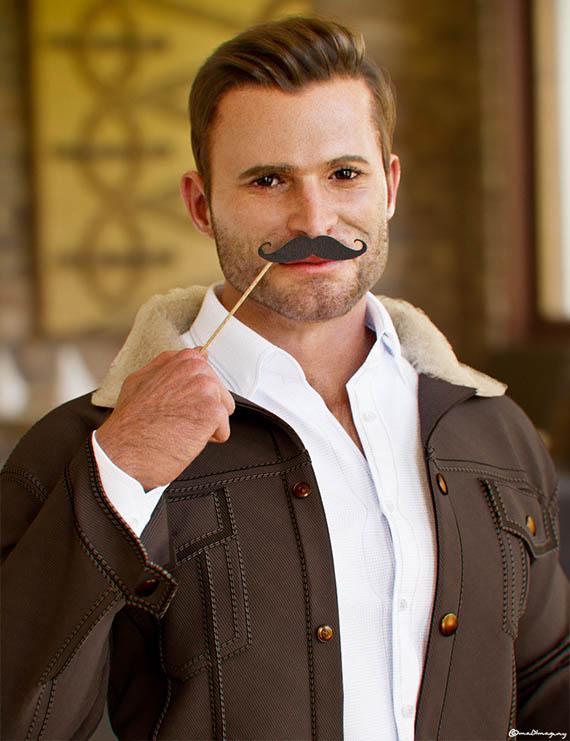 Movember Blender