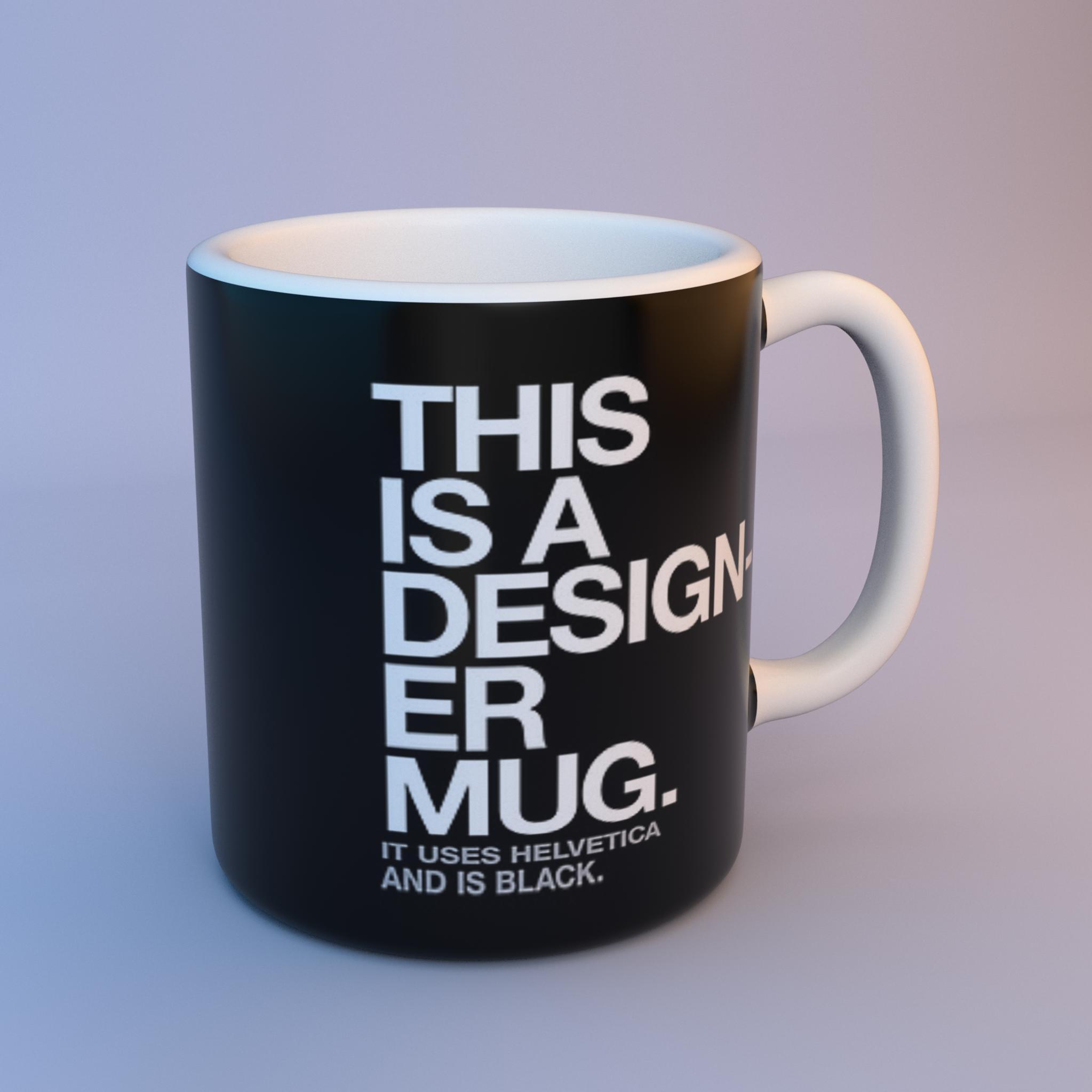 designer mug finished projects blender artists community