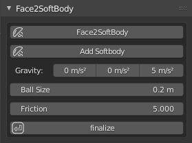 Face2SoftBody
