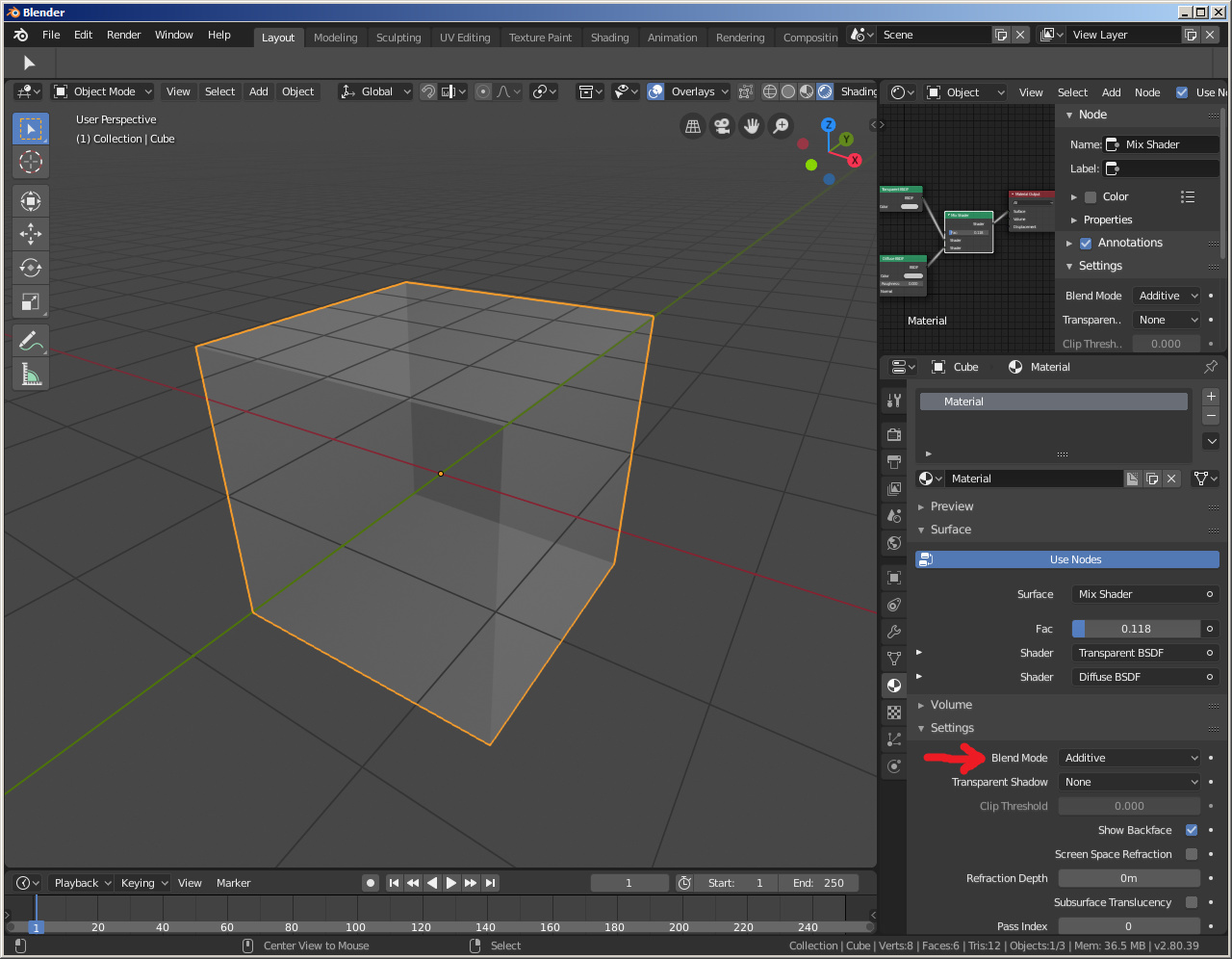 Blender 2 8 Transparent GLTF/GLB - Materials and Textures