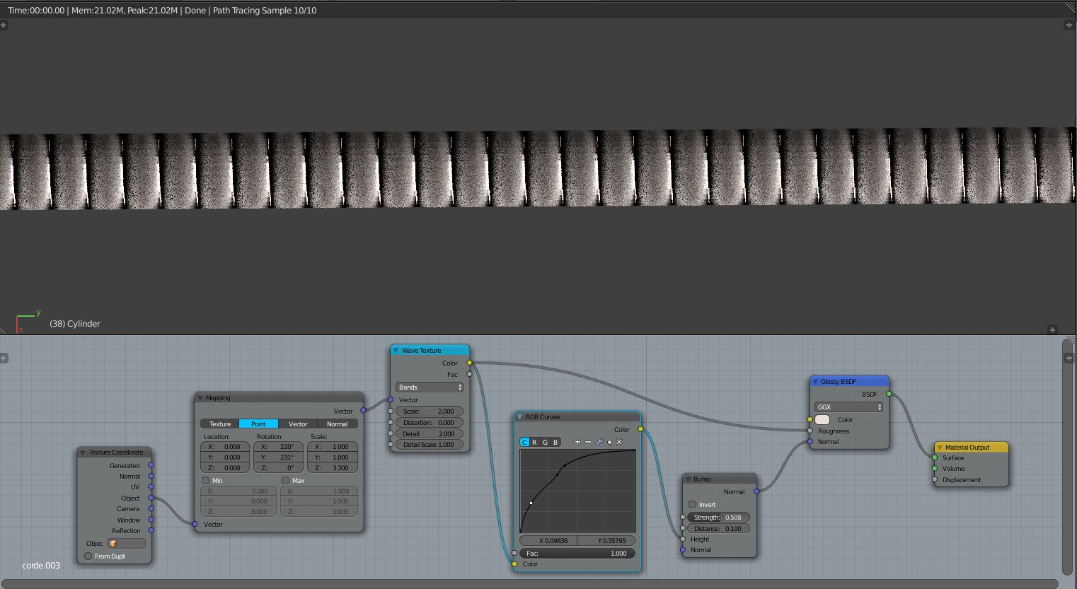 How To Texture And Animate Slow Mo Guitar Strings Finished Diagram Nodes1522x833 148 Kb
