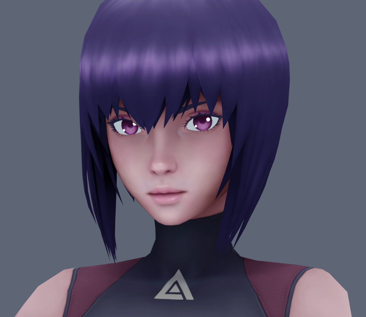 Motoko Kusanagi Fanart Ghost In The Shell Sac 2045 Finished Projects Blender Artists Community