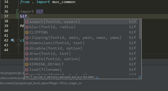 Fake bpy modules (For Code Auto-completion on IDE