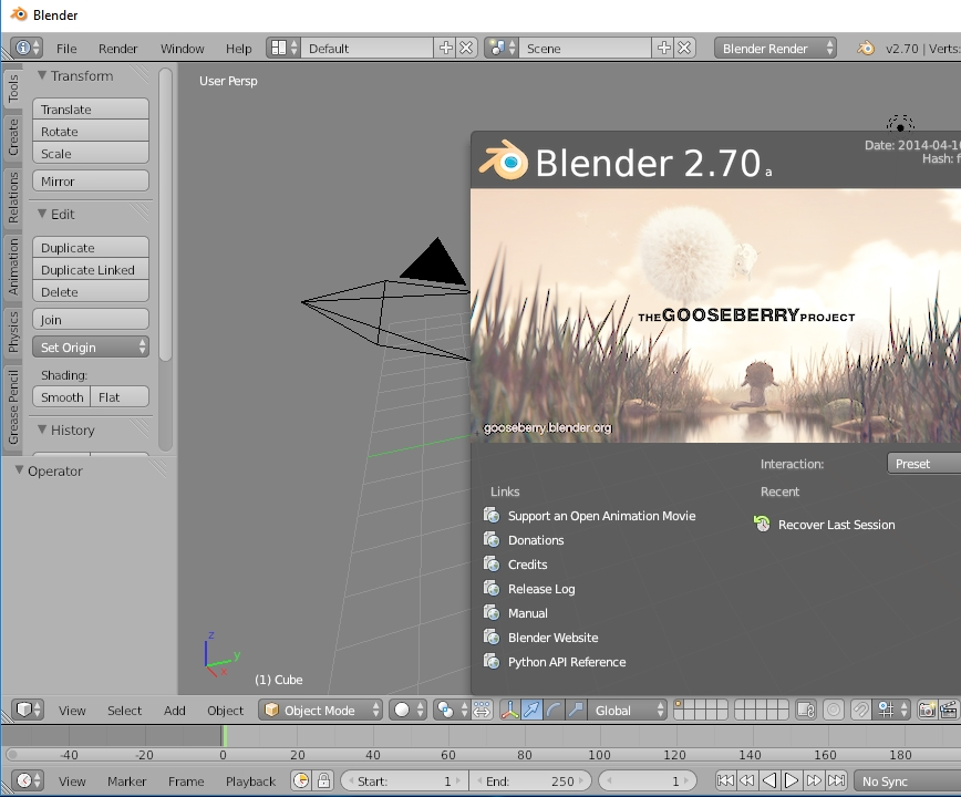 Blender Interface (2 70a) suddenly extremely washed out and