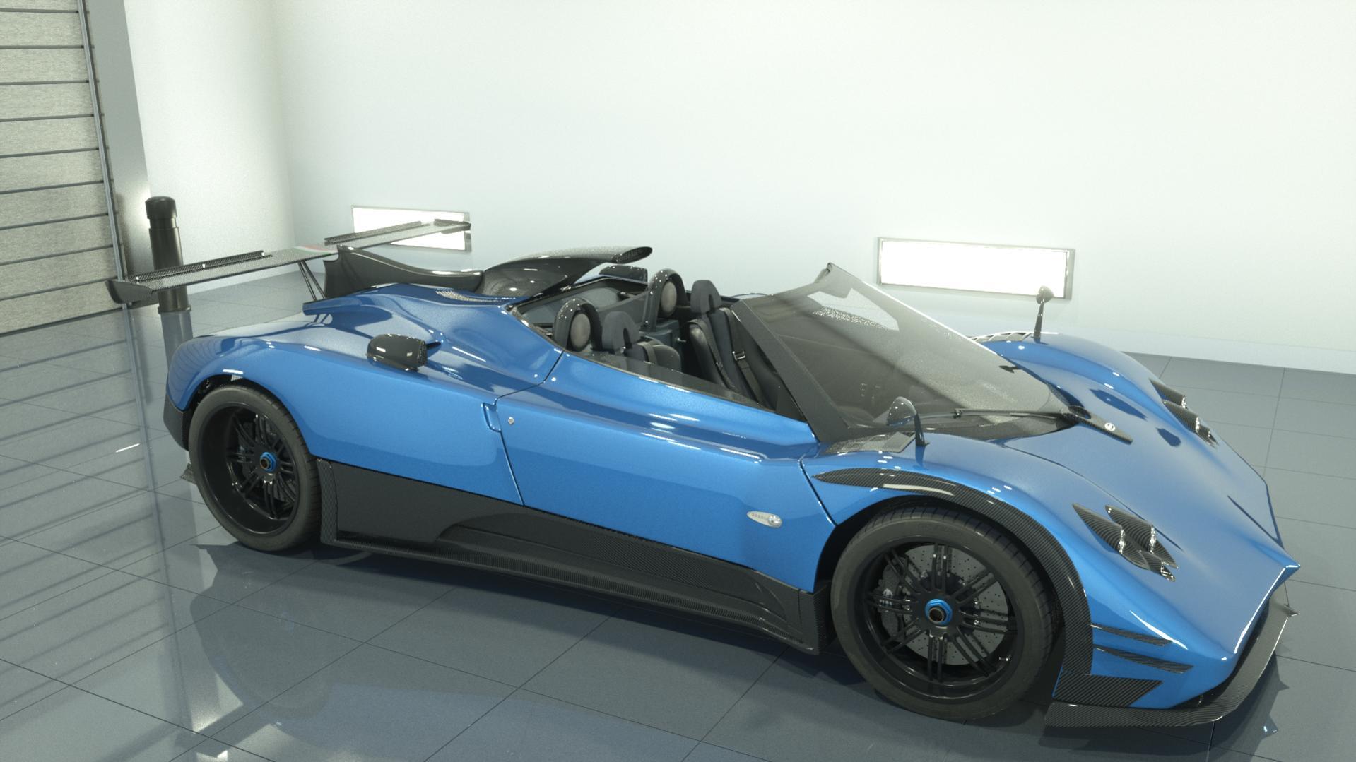 Pagani Zonda 760 Roadster - Works in Progress - Blender Artists ...